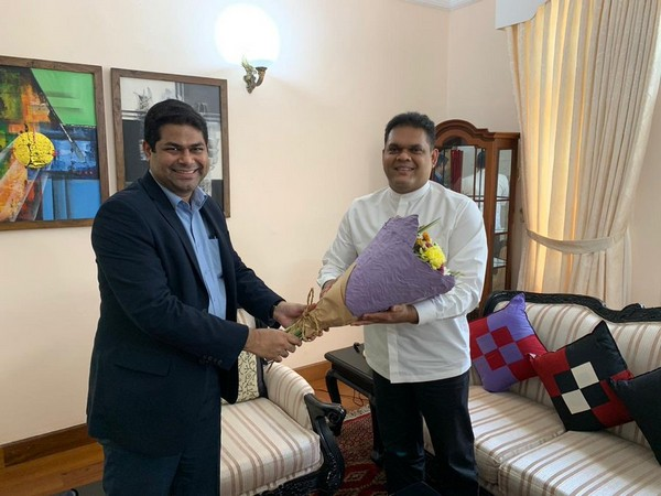Indian envoy, Sri Lankan state minister discuss bilateral economic, development cooperation