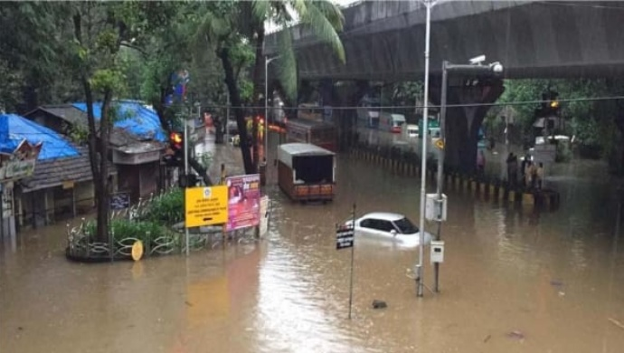 Mumbai Rains: Heavy Rainfall Floods Several Places In The City