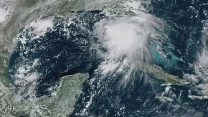 Hurricane Sally Makes Landfall As A Category-2 Storm In US