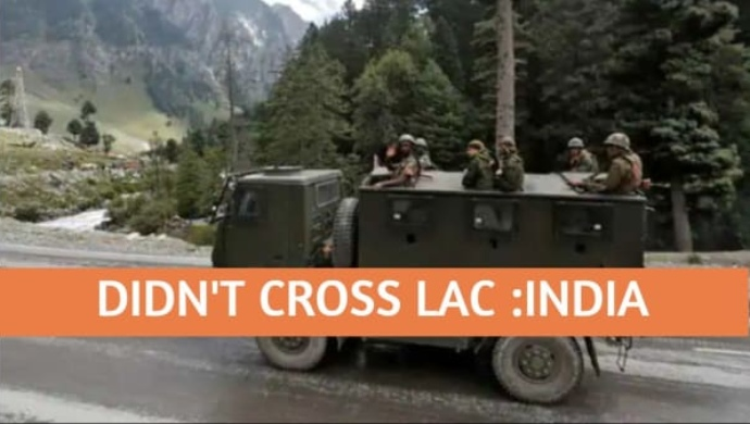India-China Border: Indian Army Refutes Crossing LAC In Ladakh Claim