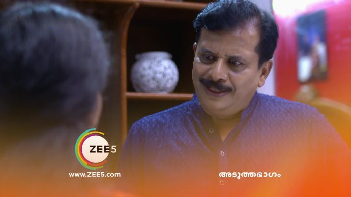 Krishnan gets angry at Kalyani (source:ZEE5)