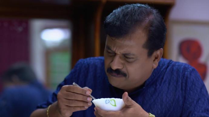Krishnan regrets eating Ganga's Payasam (source:ZEE5)