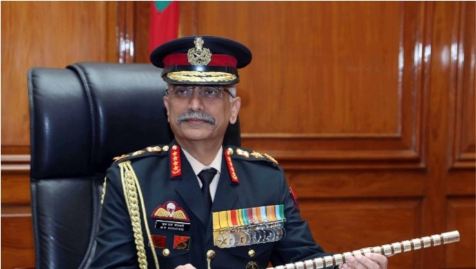 Army Chief General Manoj Mukund Naravane Reaches Ladakh To Inspect Indo-Sino Border Situation