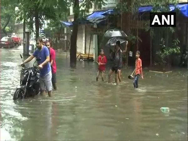 Waterlogging disrupts daily life in Mumbai