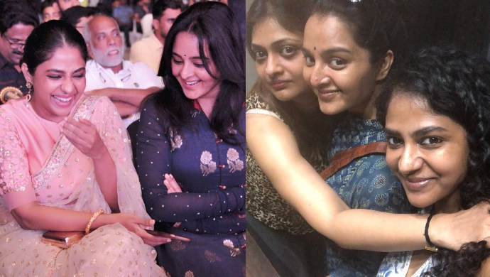 These pictures depict the lesser known friendship between Manju Warrier, Poornima Indrajith and Geetu Mohandas!