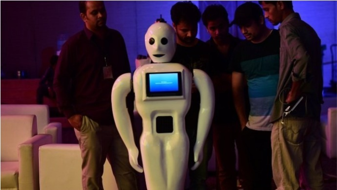 COVID-19 News: Robot Named Mitra Assists Healthcare Workers In The Coronavirus Battle