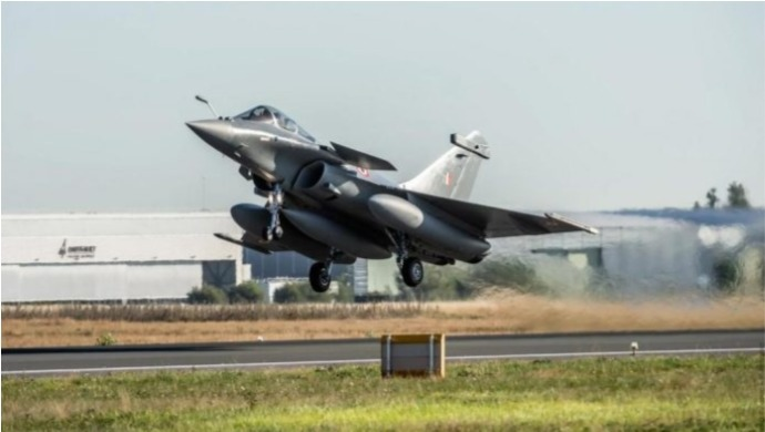 Indian Air Force To Formally Induct The Rafale Aircraft Today At The Air Force Station In Ambala