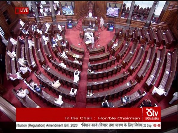 Rajya Sabha adjourned sine die eight sessions ahead of schedule