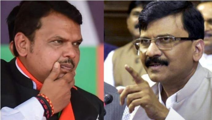 Shiv Sena Leader Sanjay Raut Secretly Meets Former Maharashtra CM Devendra Fadnavis