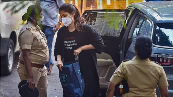 SSR Case: Narcotics Control Bureau Arrests Rhea Chakraborty
