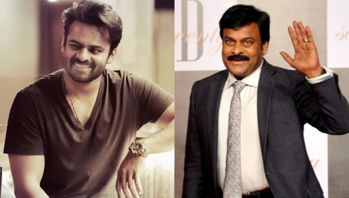 Throwback Thursday: Have you seen this picture of Chiranjeevi and Sai Dharam Tej?