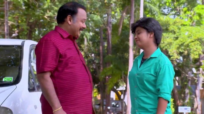Sathya and Chandradas plan to teach Sudhi a lesson (source:ZEE5)
