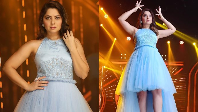 The 'Apsara' Turns Into A Cinderella! Check Out Sonalee Kulkarni's Latest Pics From The Sets Of Dancing Queen