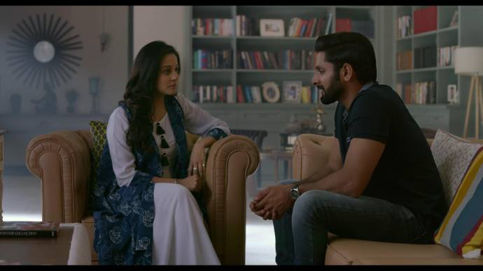 Sudha meets Harsh (source:ZEE5)
