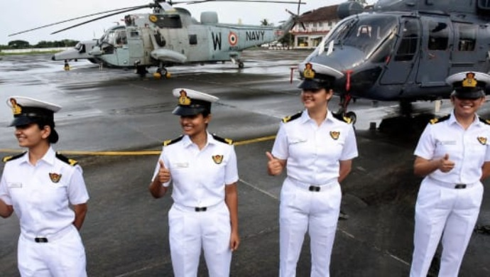 Women Power In Indian Navy: Female Officers As Airborne Tacticians
