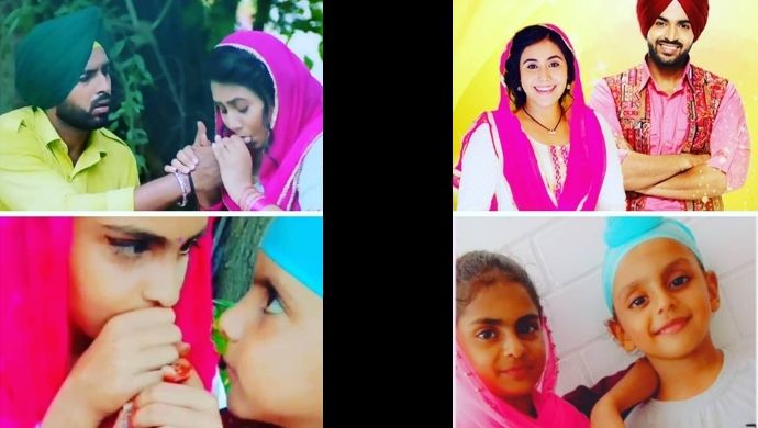 Tu Patang Main Dor's Amandeep and Zarina have the cutest doppelgangers