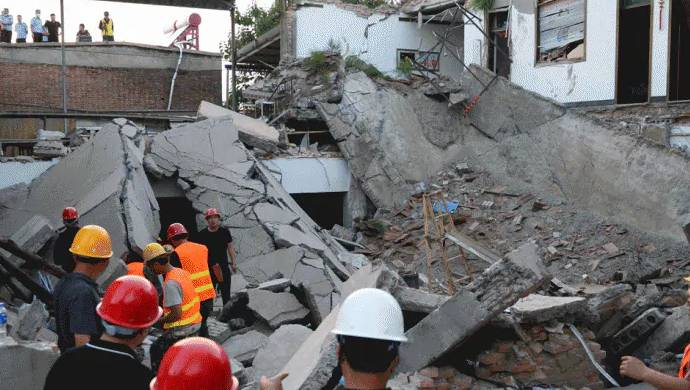 Under Construction Building Collapses In Jaipur, Seven Feared Trapped