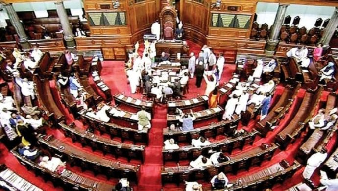 Uproar in Rajya Sabha Over Farm Bills