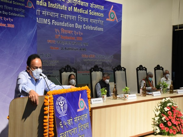 AIIMS' contribution is monumental in COVID-19 pandemic: Harsh Vardhan