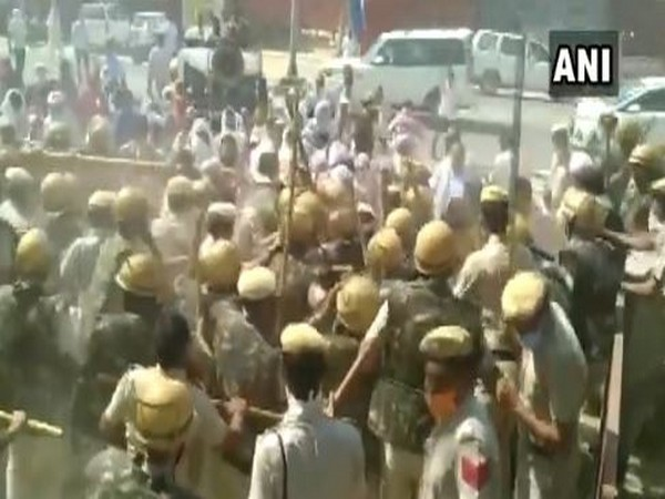Clash erupts between Haryana police, retrenched PTIs in Charkhi Dadri