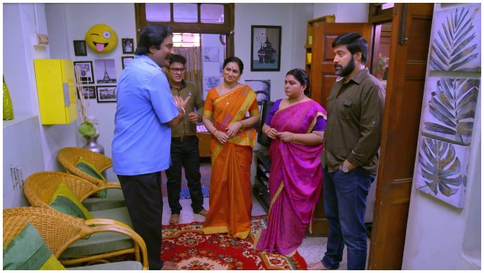 Neethane Enthan Ponvasantham: Pushpa Learns About Raghupati's Intentions