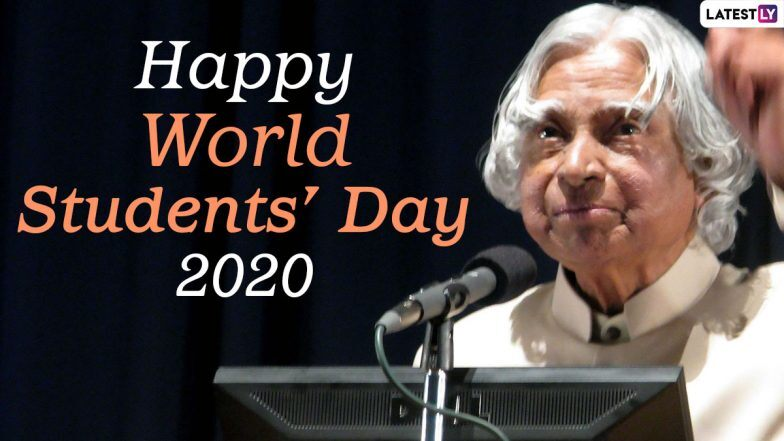Happy World Students Day 2020 Wishes And Images Flood Twitter Netizens Remember Missile Man Apj Abdul Kalam By Sharing His Powerful Quotes On His Birth Anniversary Zee5 News