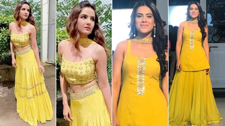 Navratri 2020 Day 6 Colour Yellow: Nia or Jasmin – Whose Outfit Will You Like to Ape?