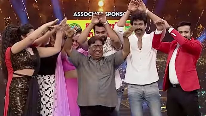 Cast of Naga Bhairavi in Entertainment League Promo