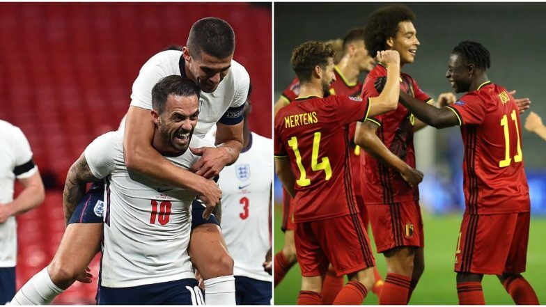 17+ England Vs Belgium Nations League Images