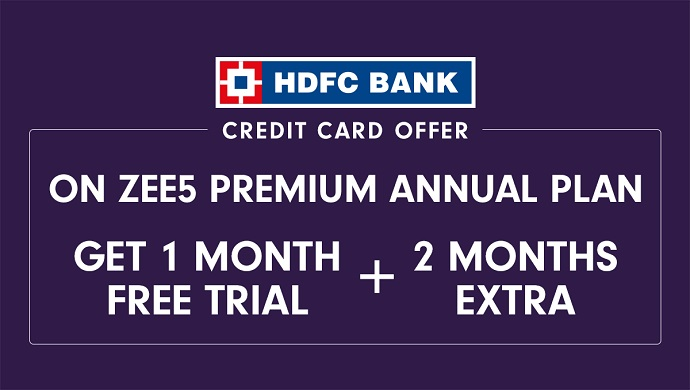 90 Days Of Free Zee5 Premium For Hdfc Credit Card Users Find Out How Zee5 News