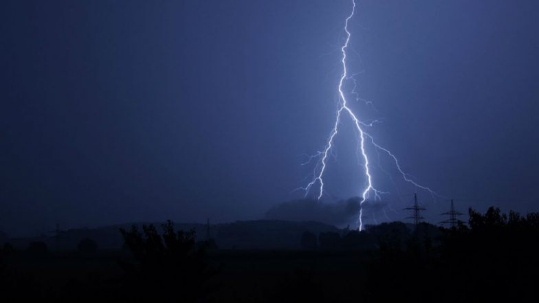 Lightning in Rural Thane Leaves 1 Dead, 26 Injured