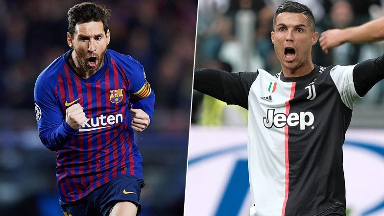 Cristiano Ronaldo Vs Lionel Messi Juventus Barcelona Placed In Group G Of Champions League 2020 21 Fans Say Group G Stands For Goat Zee5 News