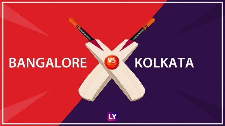 RCB vs KKR Live Score Updates of IPL 2020: Catch Live ...