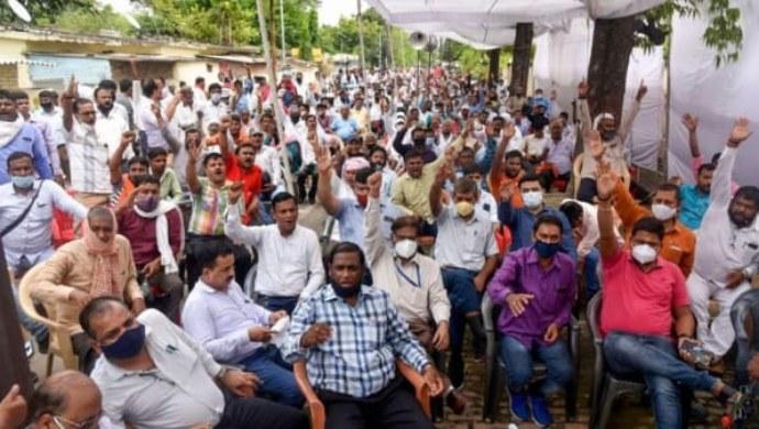 Uttar Pradesh: Power Discom Employees Stage Protest Against Privatisation - ZEE5 News