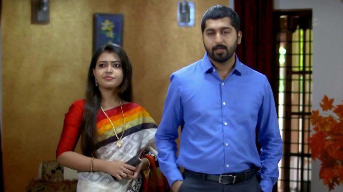 Samyuktha and Abhimanyu argue again (source:ZEE5)