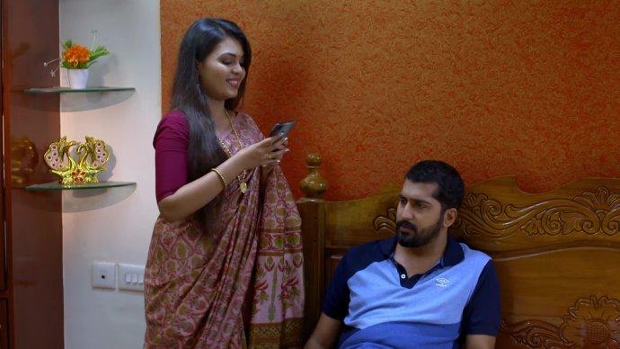 Samyuktha is excited to meet Sreejith (source: ZEE5)