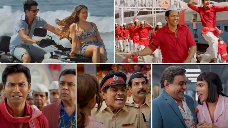 Coolie No 1 Trailer: Varun & Sara Recreate the Goofy Magic of Govinda-Karisma In Their Own Style!
