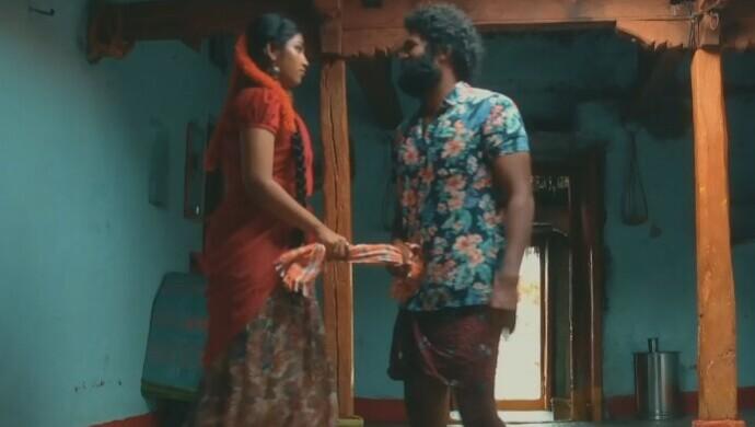Meka Suri and Rani in their house