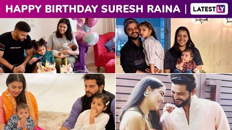 Suresh Raina Birthday Special: Adorable Family Photos of ...