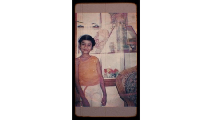 Reshma's childhood pictures