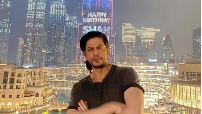 On Shah Rukh Khan's 55th Birthday, Dubai's Burj Khalifa Lights Up With The Actor's Photo & Name; Watch