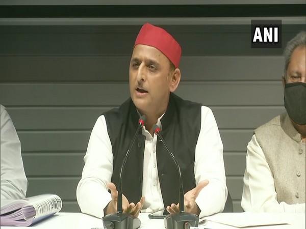 Akhilesh Yadav slams BJP over farmers' protest