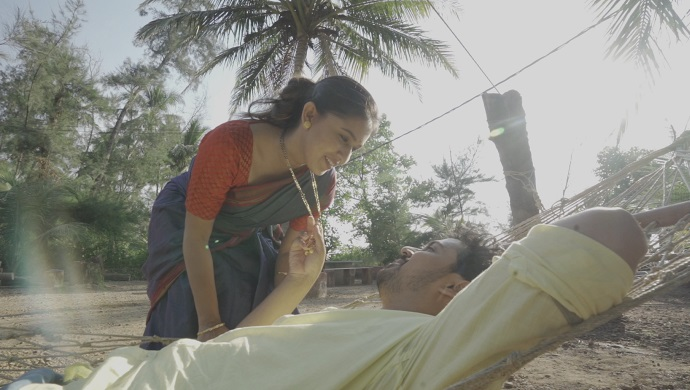 A still from Majha Hoshil Na