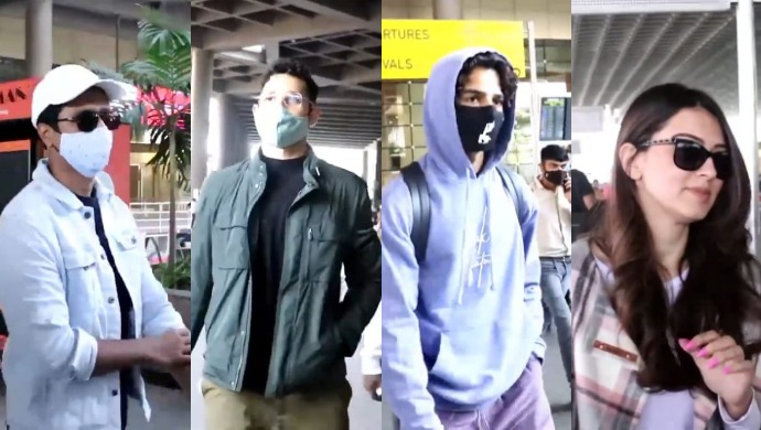 Young Bollywood Stars Flaunt Their Airport Looks While Being Snapped By The Paparazzi