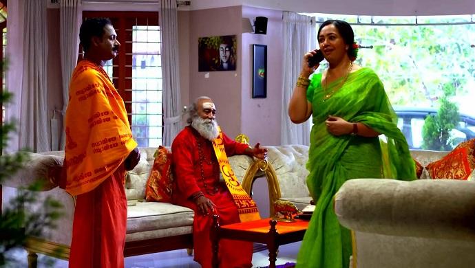 Swamiji and Akhila in Chembarathi