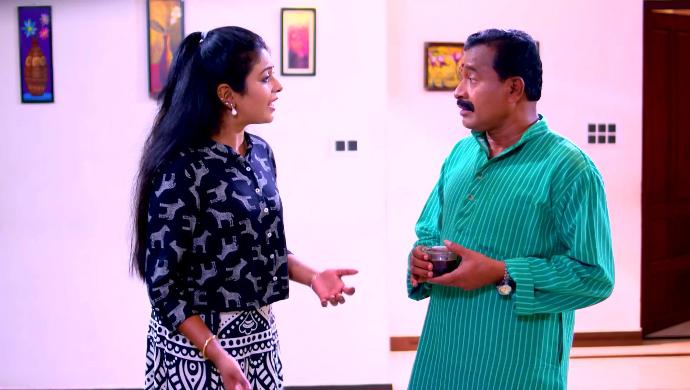Divya and Vaydyar from Sathy Enna Penkutty