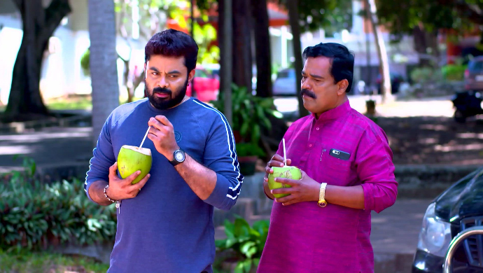 Rahul and his partner from Sathya Enna Penkutty