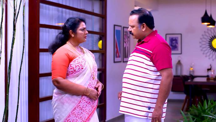 Radhika and Chandradas from Sathya Enna Penkutty