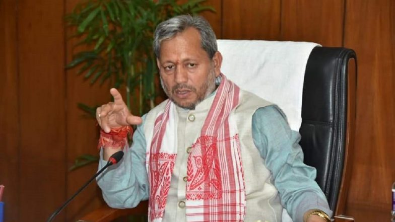 Tirath Singh Rawat Blames Ripped Jeans for Societal Breakdown, Uttarakhand  CM Says 'West Follows Us and We Run Towards Nudity' - ZEE5 News