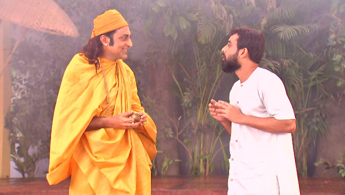 Krishna and Gadadhar in Rani Rashmoni
